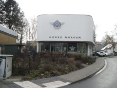 Das Horex–Museum in der Horex–Straße in Bad Homburg.