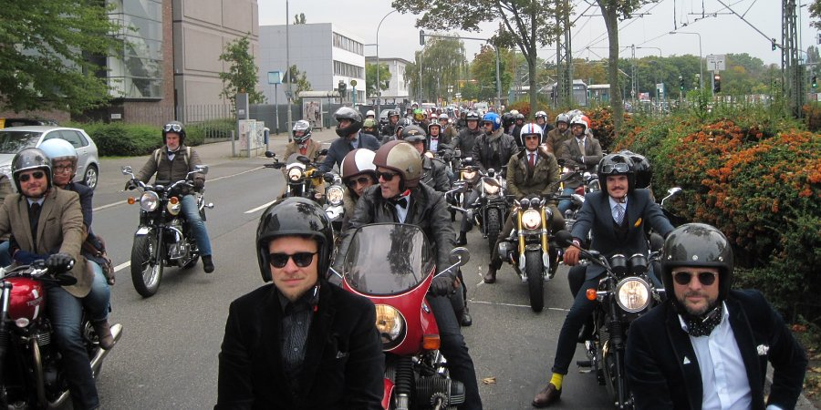 Distinguished Gentlemen beim Frankfurt Ride 2017.